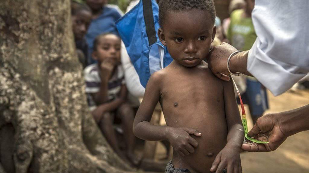 Laut Welthunger-Index ist jedes vierte Kind von Wachstumsverzögerungen betroffen (Symbolbild)