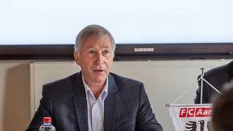 Präsident Alfred Schmid glaubt, dass Sandro Burki nicht zu GC wechselt.