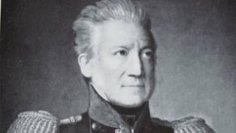 Johann Herzog von Effingen als Oberst. Staatsarchiv Aargau