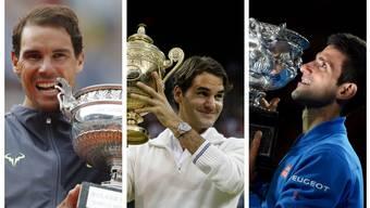 Rafael Nadal, Roger Federer und Novak Djokovic dominierten das Männertennis in den letzten Jahrzehnten wie keine Generation zuvor.