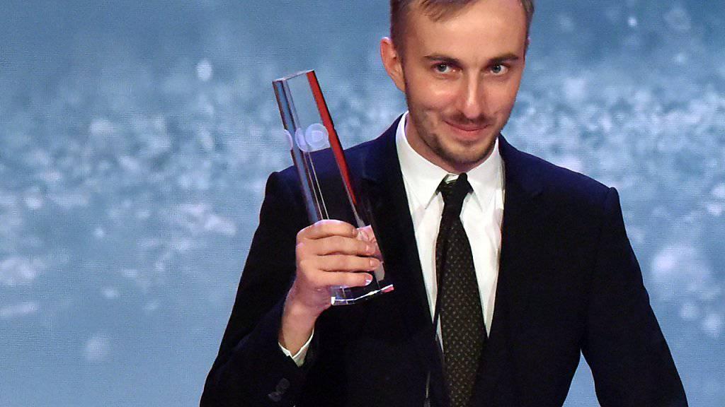 Wie im Vorjahr hat der TV-Moderator Jan Böhmermann für seine Late-Night-Show einen Deutschen Fernsehpreise gewonnen.