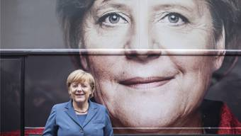 Tritt sie in zwei Jahren nochmals an? Angela Merkel im Bundestagswahlkampf 2013.imago