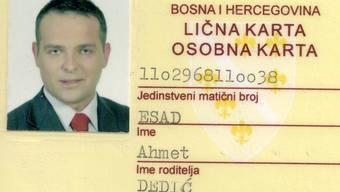 Diese Kopie der gefälschten ID verschickt Dietmar Putzas.ZvG