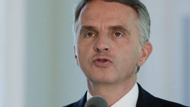 Bundesrat Burkhalter besucht Schweizer Ausstellung in San Francisco (Archiv)