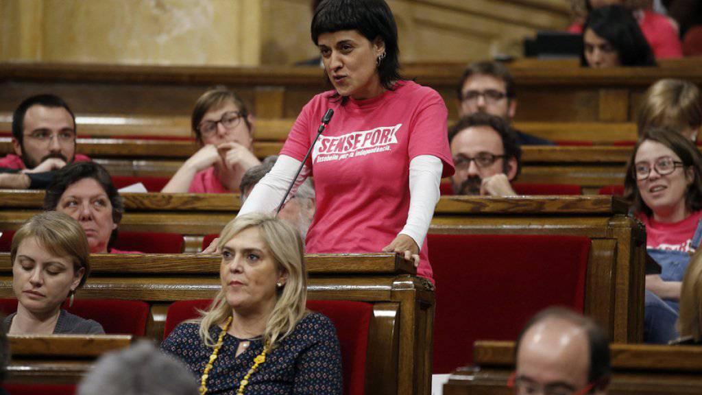 Die spanische Justiz hat gegen Anna Gabriel einen Haftbefehl erlassen. (Archivbild)