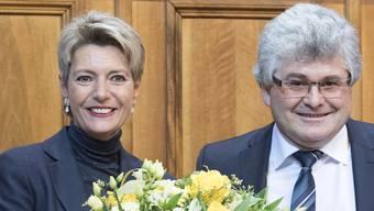 Karin Keller-Sutter ist neue Ständeratspräsidentin.
