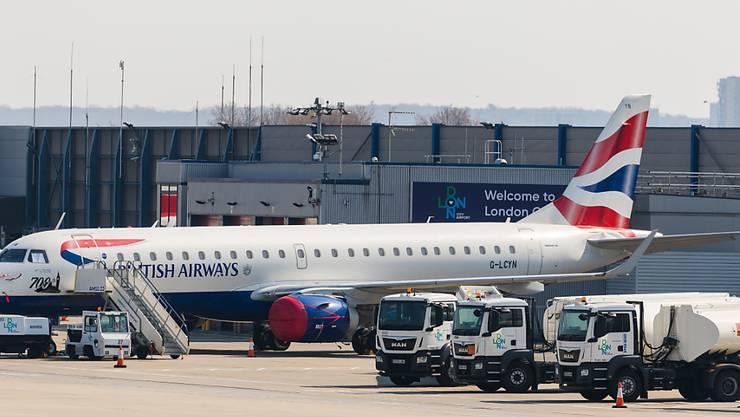 Die British Airways will wegen der Coronakrise 36'000 Mitarbeitende in den temporären Urlaub schicken. (Archivbild)