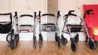 Aufnahme aus einem Seniorenzentrum der Stadt Zürich: 2017 waren 12,5 Prozent der Altersrentner auf Ergänzungsleistungen angewiesen.