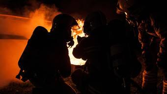 Die Feuerwehr konnte den Brand rasch löschen. (Symbolbild)
