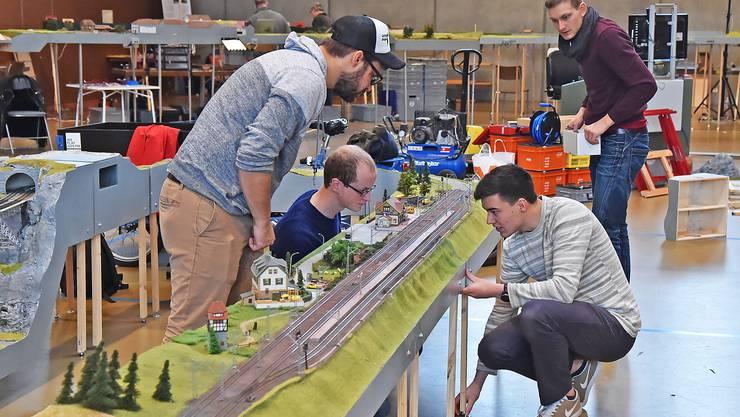 In der Mehrzweckhalle Inseli in Niedergösgen findet am Freitag und Samstag die 13. Modelleisenbahn-Ausstellung statt.