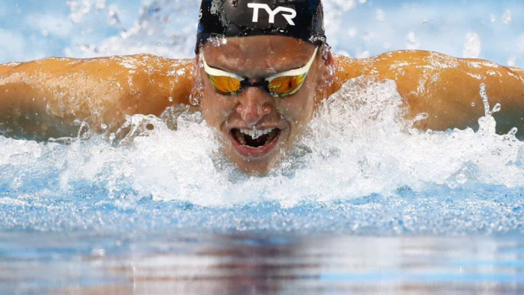 Der Westschweizer Nils Liess im letzten Mai an den Europameisterschaften in London