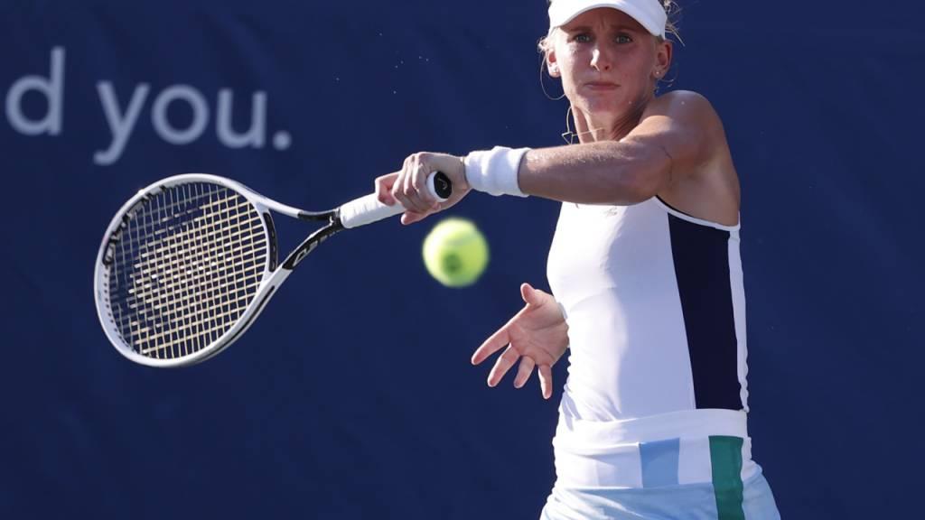 Jil Teichmann hat gegen ihre Startgegnerin am US Open bereits in dieser Woche gespielt und klar gewonnen