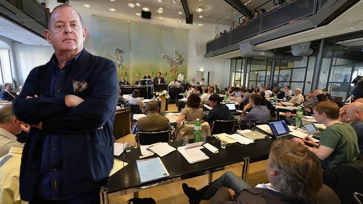 Dieter Kaegi bezeichnet den Enschluss zu den Sparmassnahmen als Verschwörung im Bieler Stadtparlament. (Symbolbild)