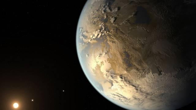 Entdeckte Planeten könnten aus Stein sein (Symbolbild)