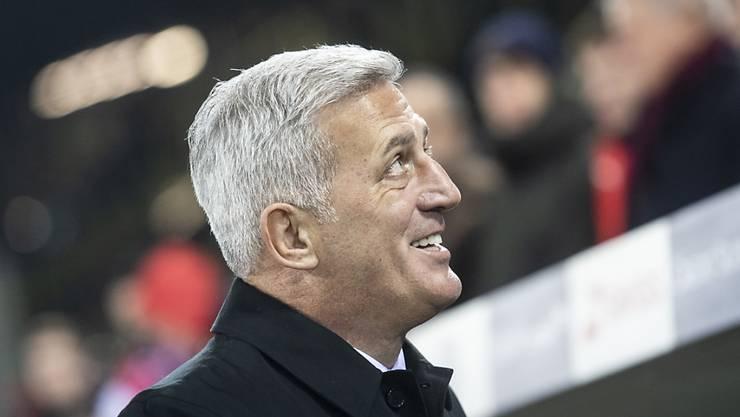 Der Schweizer Fussball-Nationalcoach Vladimir Petkovic kann sich über die Auslosung für die EM-Qualifikation nicht beklagen