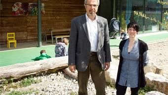 Sybille Christen und Stephan Hug setzen sich für das Zentrum für Kind und Jugend ein.