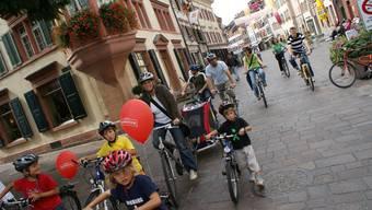 Radeln in Rheinfelden: Die Stadt könnte Anlaufstelle für Touristen im ganzen Fricktal werden.  ach/AZ-