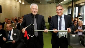 Schlüsselübergabe JVA Solothurn
