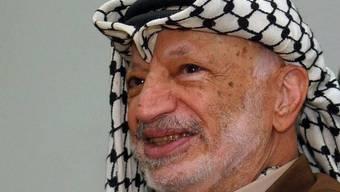Der ehemalige Palästinenserführer Jassir Arafat im Jahr 2002 (Archivbild)
