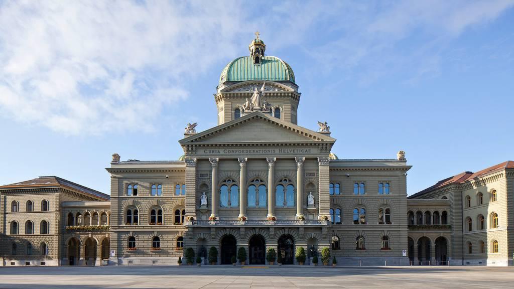 Bundeshaus wird mit Granit-Pollern vor Anschlägen geschützt
