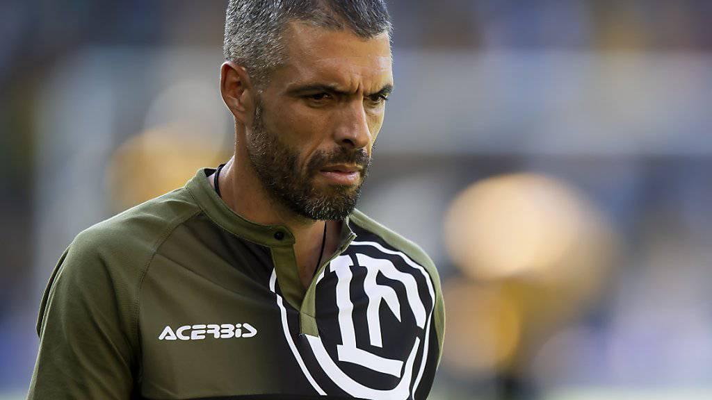 Fabio Celestini macht als Trainer von Lugano derzeit keine einfache Zeit