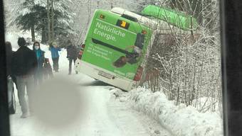 Unfall mit Bus, Grenchen, 16. Januar 2021