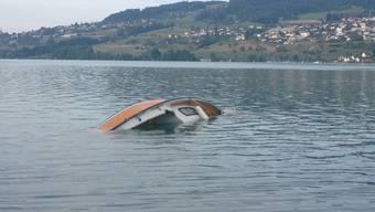 Sinkende Schiffe auf dem Hallwilersee