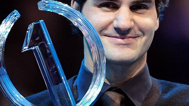 Hat 2009 als Nummer 1 abgeschlossen: Roger Federer (Archiv)