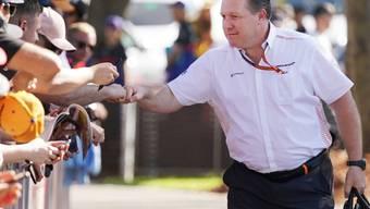 McLaren-Motorsportchef Zak Brown vor dem geplanten GP von Australien: Nach dem ersten Coronavirus-Fall im McLaren-Team wurde das Rennen in Melbourne schliesslich abgesagt