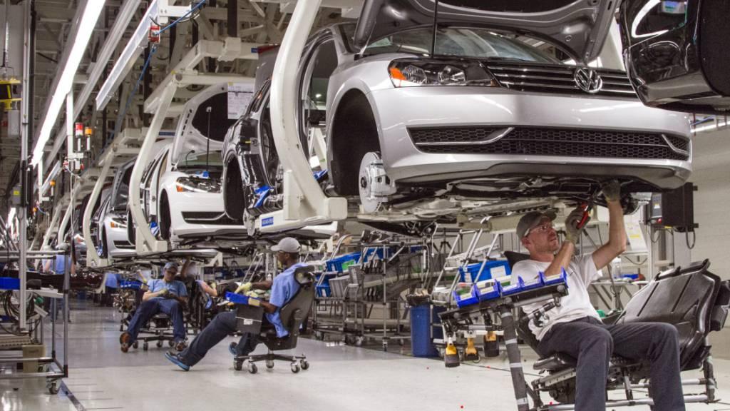 VW stellt Produktion des Passat in den USA ein (Bild: Betroffene Werkstatt in Chattanooga, Tennessee)