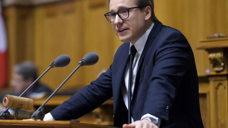 Nationalrat Philippe Nantermod will für die Walliser FDP einen Ständeratssitz erobern. (Archivbild)