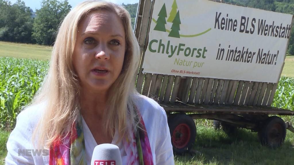 BLS-Werkstätte Chlyforst: Umweltschützer drohen mit Bundesgericht