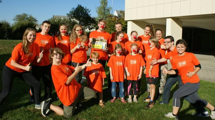 2015 organisierten die Jugendarbeit der Reformierten Kirche und der Cevi einnen 72-Minuten-Lauf.