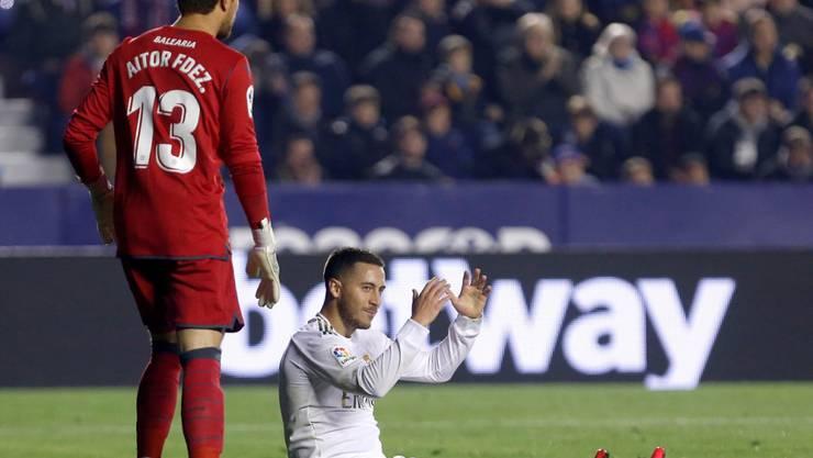Eden Hazard verletzte sich erneut