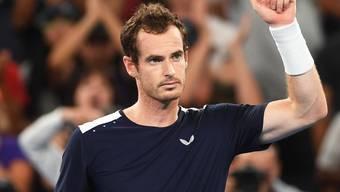 Andy Murray nach seiner Erstrunden-Niederlage in Melbourne im Januar 2019