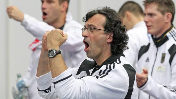 Didier Ollagnon (im Vordergrund) wird neuer Schweizer Nationaltrainer