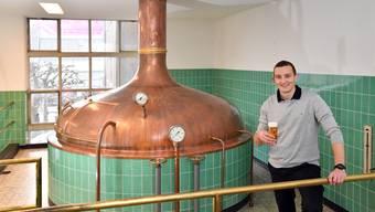 Christoph Karbacher startet neu mit «Barkracher» und besinnt sich auf alte Werte: das Köhler-Bier entstand hier in Schönenwerd.