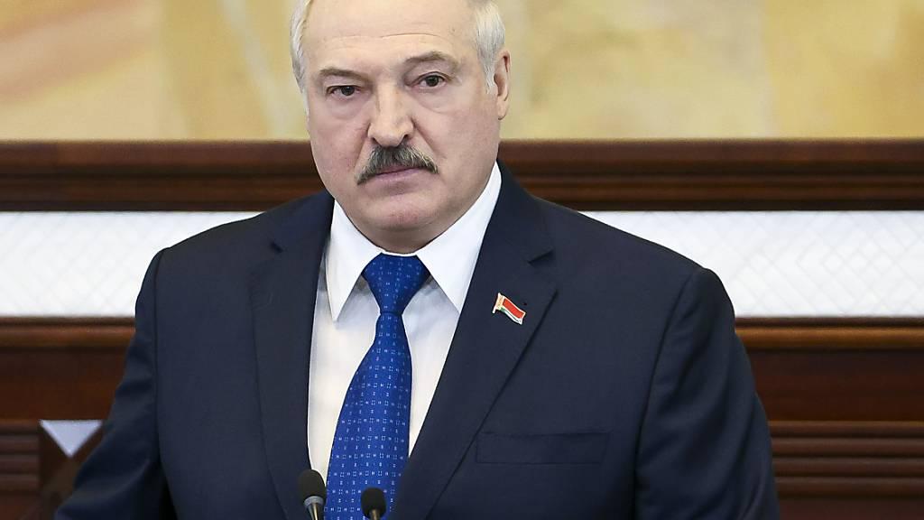 Lukaschenko verteidigt erzwungene Landung