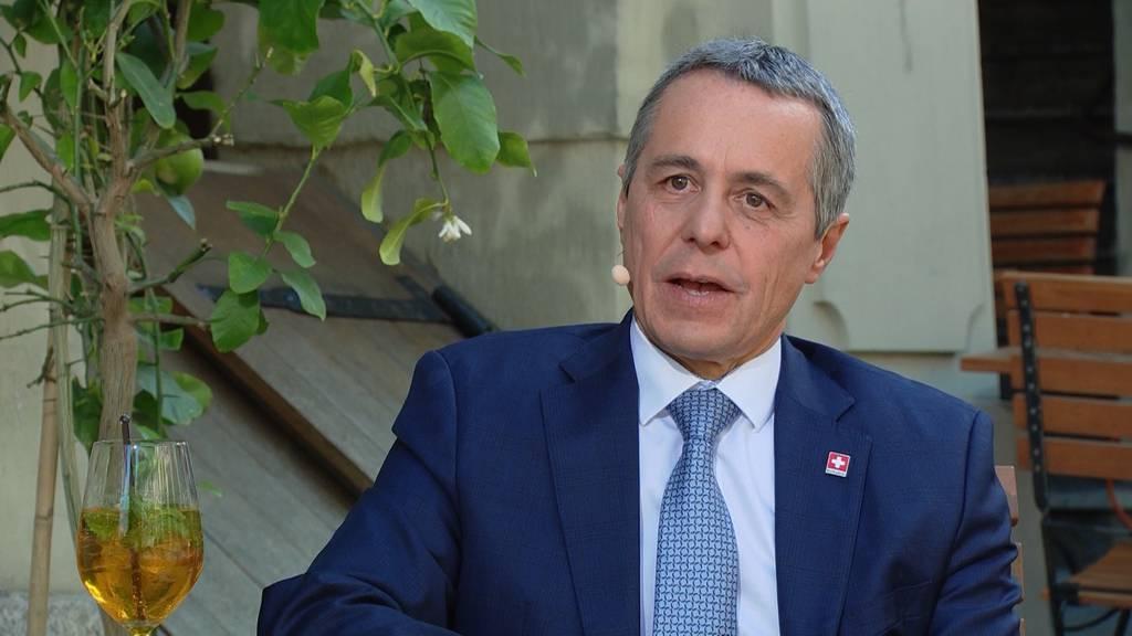 Ignazio Cassis, FDP-Bundesrat und Aussenminister