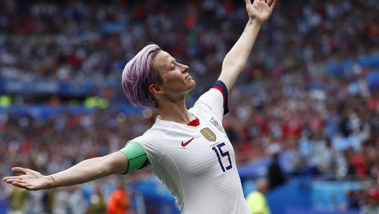 Der Star des US-Teams: Megan Rapinoe. Und was ist mit der Schweiz?