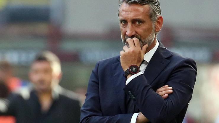 Lorenzo D'Anna ist nicht mehr Trainer von Chievo Verona