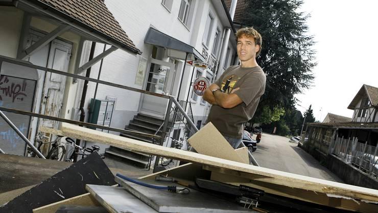 2008 startet Markus Moerler mit seinem Eleven an der Fabrikstrasse