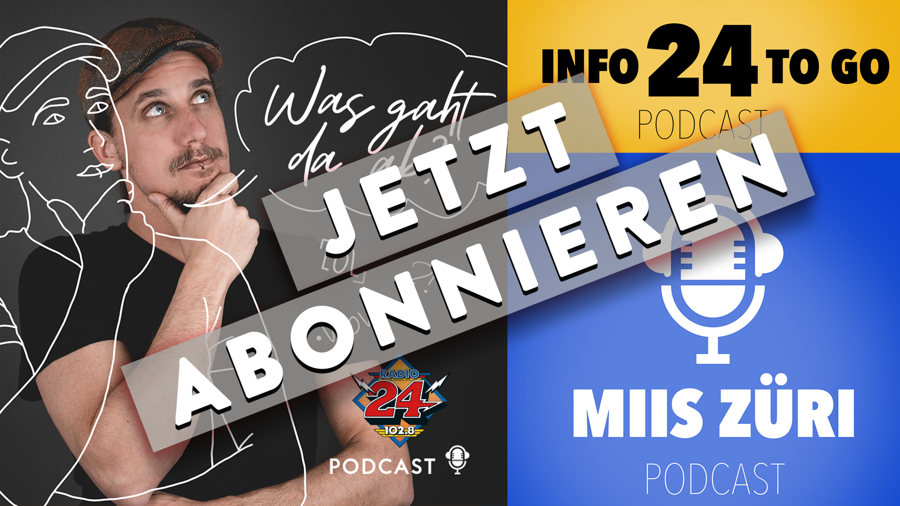 Podcast abonnieren Webbild
