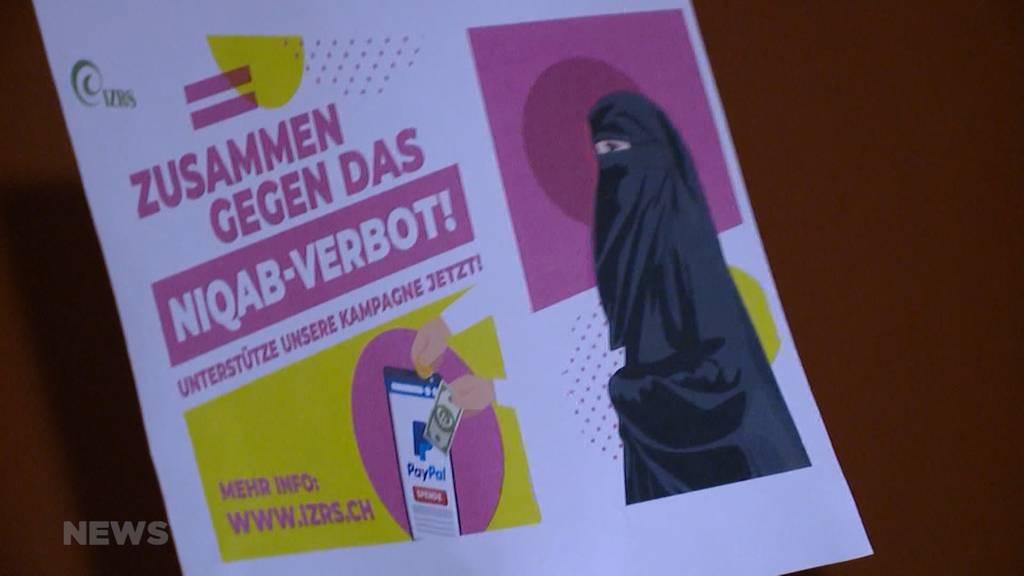 Verhüllungsverbot: Islamischer Zentralrat kämpft gegen Burka-Initiative
