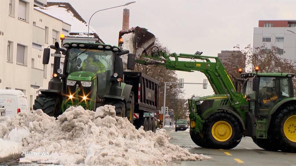 Schelte für Stadt Zürich wegen Schneeräumung