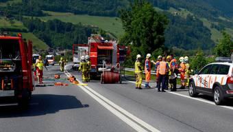 Mann und zwei Kinder aus dem Aargau verbrennen im Auto