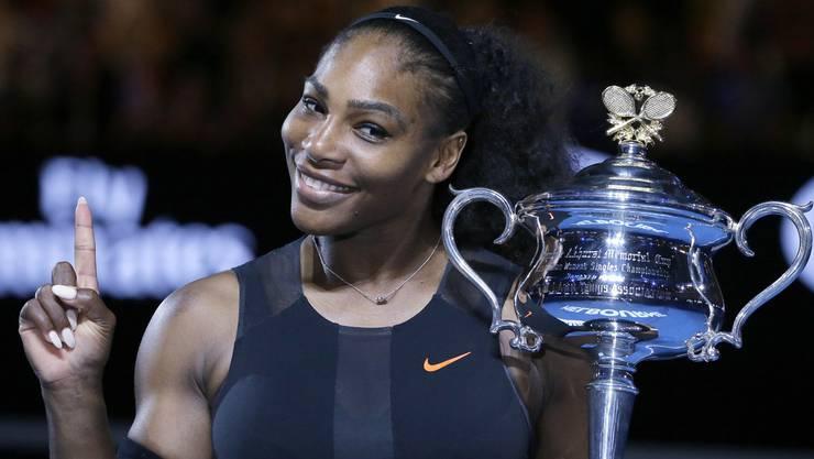 Serena Williams ist zum ersten Mal schwanger.