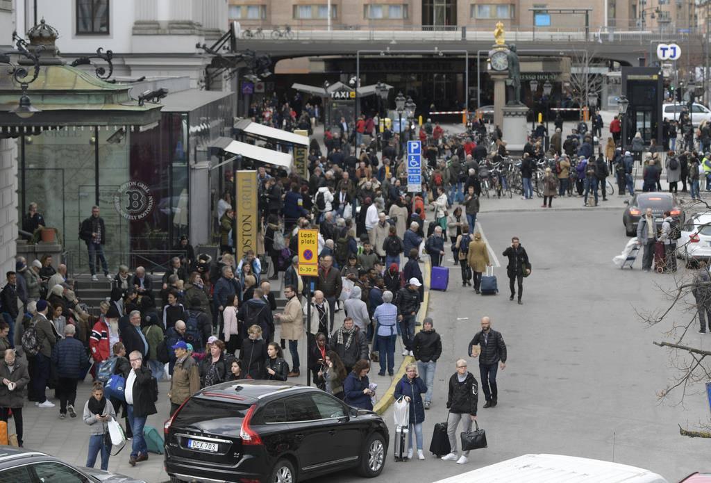 Attacke in Stockholm