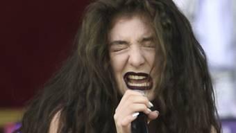 Eine ausdrucksstarke Entertainerin: Sängerin Lorde (Archiv)