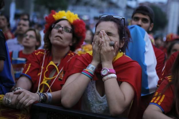 Die Spanier können es nicht fassen